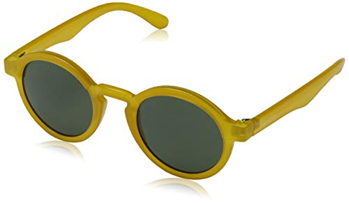 Mr. Boho Dalston Gafas de sol, Amarillo (Honey), Única Unisex
