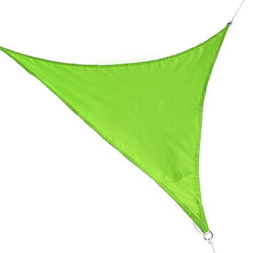 YAzNdom regen vliegentent 2x2x2m multifunctioneel gemakkelijk gevouwen driehoekige schaduw zeilen waterdichte outdoor schaduw outdoor tuin zon luifel tent UV blokkeren regen vliegen hangmat