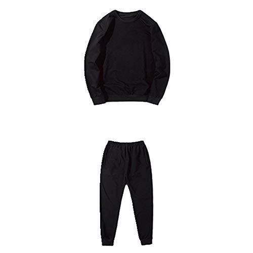 Conjunto de suéter deportivo de primavera y otoño para hombre con conjunto casual de dos piezas