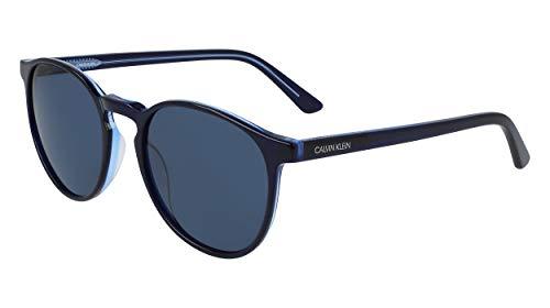 Calvin Klein Gafas de Sol CK20502S BLACK BLUE/BLUE 53/20/145 hombre