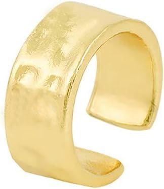 Tcplyn 1Pcs Ear Cuffs for Non-Pierced Ears Gold Ear Cuff Earrings for Women Cartilage Hoop Clip On Hypoallergenic Earrings Fake Nose Ring Jewelry GiftsDurable