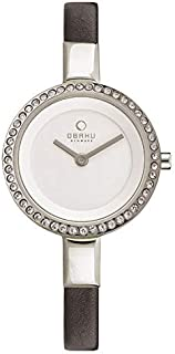 Obaku analog Watch for Women - V129LCIRB3