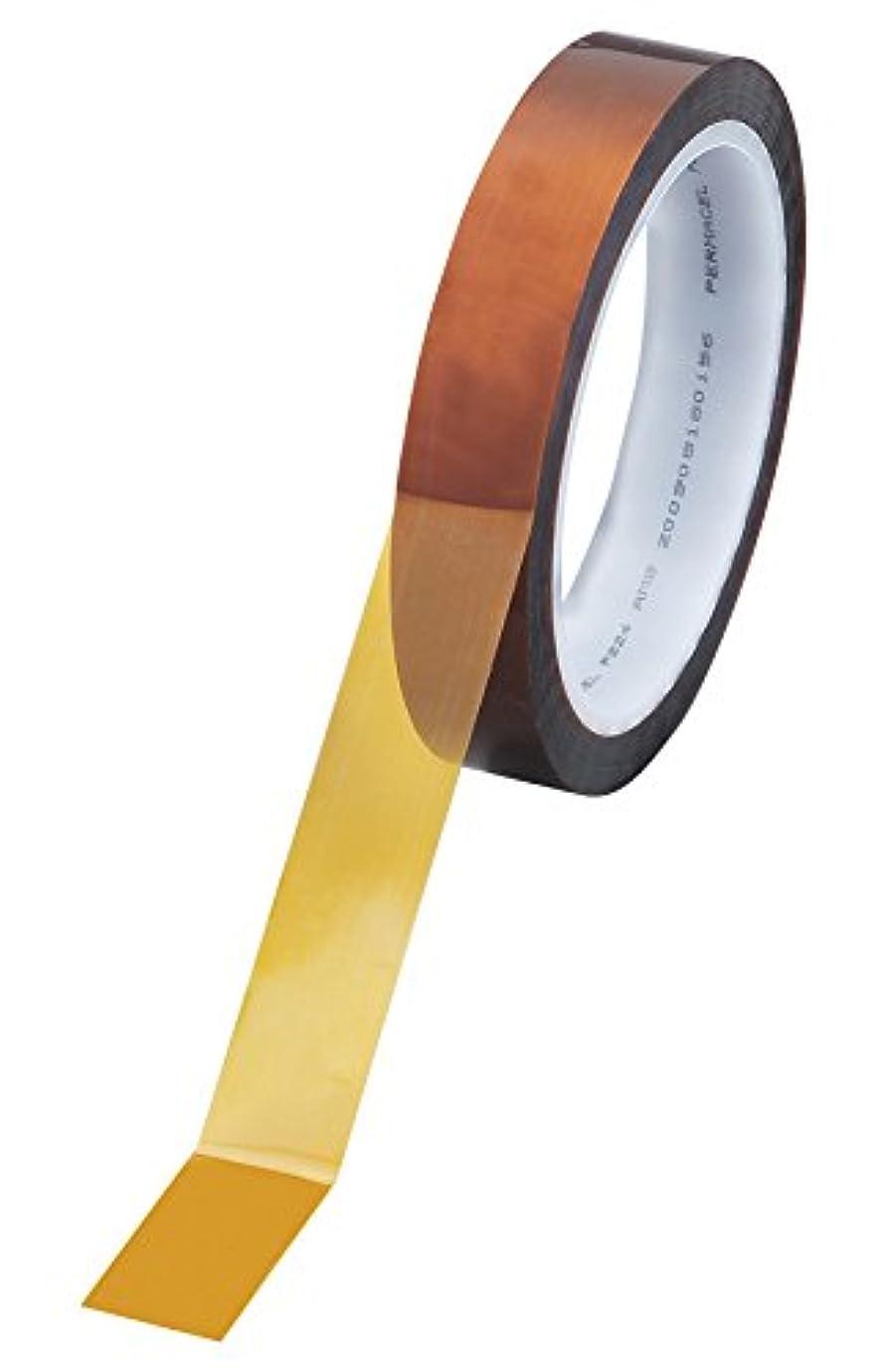 批判的ディスパッチポインタアズワン カプトンテープ P-224 0.064×19mm×33m (1巻入り) /5-5018-06