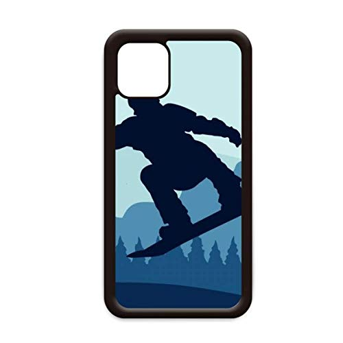 Winter Sport Patroon Ski pak en laarzen voor Apple iPhone 11 Pro Max Cover Apple mobiele telefoonhoesje Shell, for iPhone11 Pro Max
