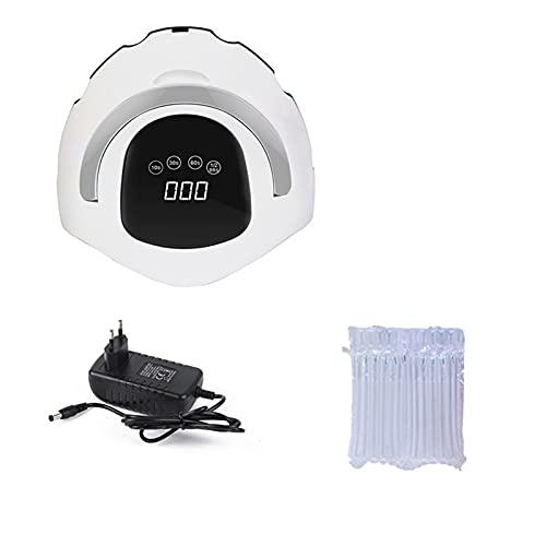 lámpara de uñas led Máquina de manicura de 108W utilizada para la lámpara de aceite de hielo de gel de secado de uñas 5 4PCS / LED Sensor automático 10S / 30S / 60S / 99S Herramienta kit de esmalte de