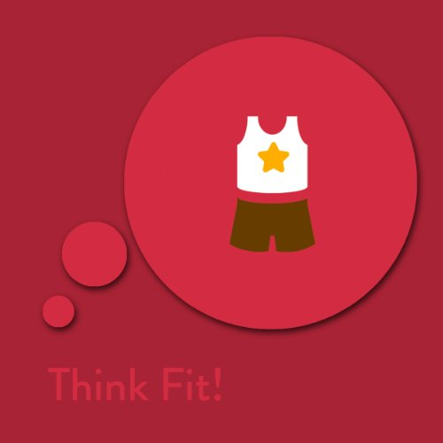 Think Fit! Fitness Affirmations Titelbild