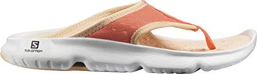 Salomon Damen Reelax Break 5.0 Walking Shoe, Orange Persimon White Almond Cream, 39.5 EU