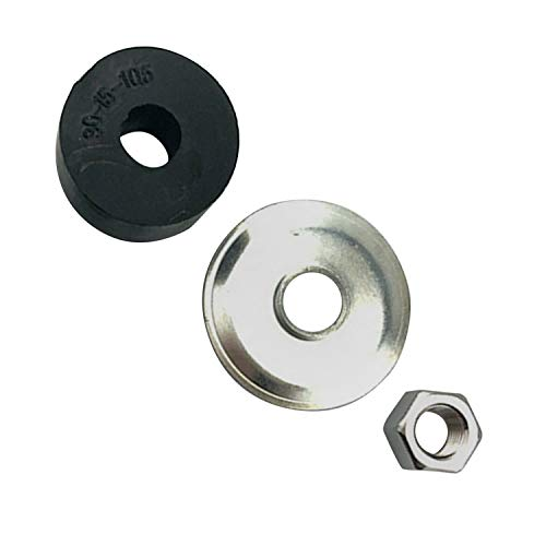Weelparz New Front and Rear Shock Bushing Kit 10194G1 810157 810758 10435G1 1010142 For Clu b Ca r Golf Cart DS and Precedent 1982-Up Ezg o Gas and Electric TXT Marathon 1989-Up