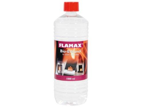 Bioethanol 96 {0e169c607a83dfd1c29489016f23601b115484972e46290e355f98484500d0fb} - 1000 ml von Flamax - 18202