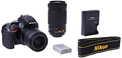 Nikon D5600 DSLR with 18-55mm f/3.5-5.6G VR and 70-300mm f/4.5-6.3G ED from Nikon