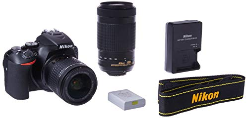 Nikon D5600 Digital SLR 18-55 mm f/3.5-5.6 G VR and...