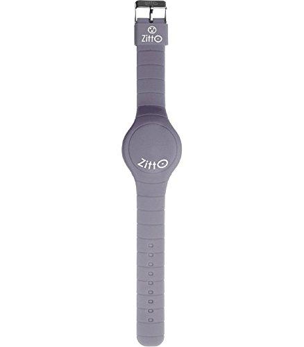 Orologio ZITTO a led con cinturino in silicone Silver gray Grigio Piccolo