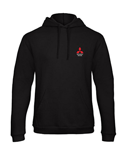 caprica91 Mitsubishi Motors Japan Bestickte Kapuzenpullover Hooded Sweat Jacket VIP Super Qualität - 7095Sw (XL)
