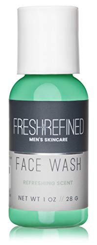 Fresh & Refined Mens Face Wash - Daily Facial Cleanser for Men - Perfect for All Skin Types - 1...
