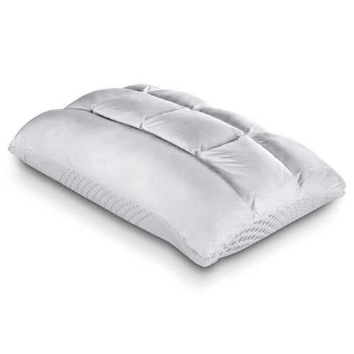 Purecare Recovery SoftCell Select Reversible Pillow, Celliant Fibers, Reversible Memory Foam & Down Alternative Design, Queen (PCCEL751)
