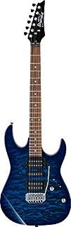 scheda chitarra elettrica ibanez grx70qa-tbb gio full transparent blue burst