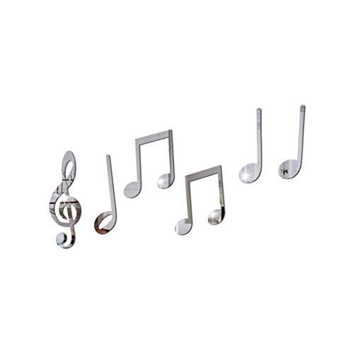 YEALINK ExtraíBle Vinilo Arte Nota Musical Etiqueta De La Pared De Pared...