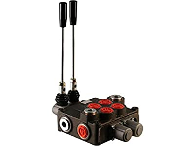 2 Spool Hydraulic Directional Control Valve 32gpm, Double Acting Cylinder Spool from Arshydro