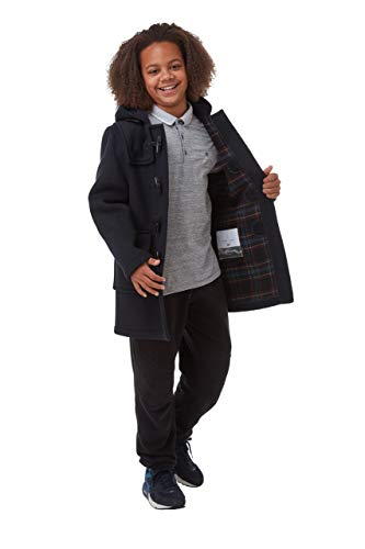 Original Montgomery Classic Dufflecoat Kinder, Alter 2-3 Jahre, Navy