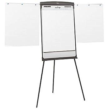Quartet Easel Magnetic Whiteboard/Flipchart 27  x 35  70  Tall Graphite  67E
