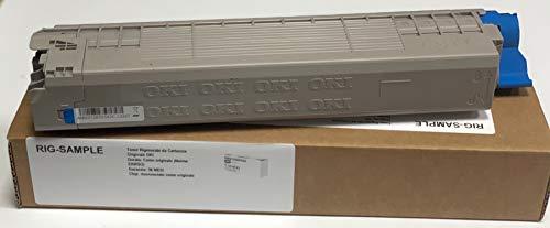 Toner Oki MC853DN MC873DN MC853 MC873 - Cyan - 7.300 PAGINAS A4 (Ein/ISO) - CÓDIGO SAP Oki: 45862839 - EAN Original Oki: 5031713064190 - Peso: 542,6 Gramos - REGENERADOS, RECONSTRUIDOS
