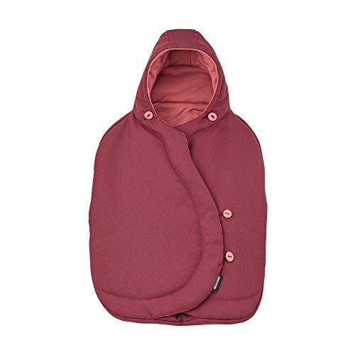 Maxi-Cosi kuschelig warmer Fußsack, passend für alle Babyschalen, Marble Plum (Limited Edition)