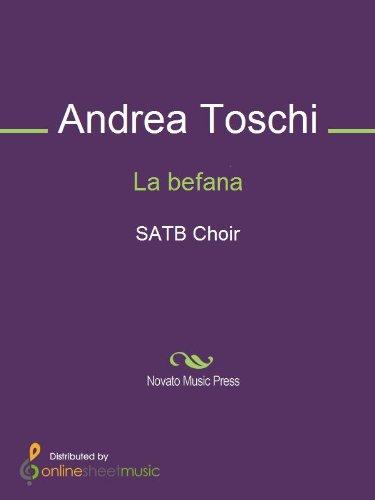 La befana - Score (English Edition)