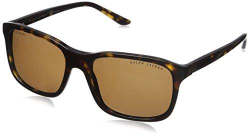 Ralph Lauren 0Rl8142 Gafas de sol, Dark Havana, 56 para Hombre