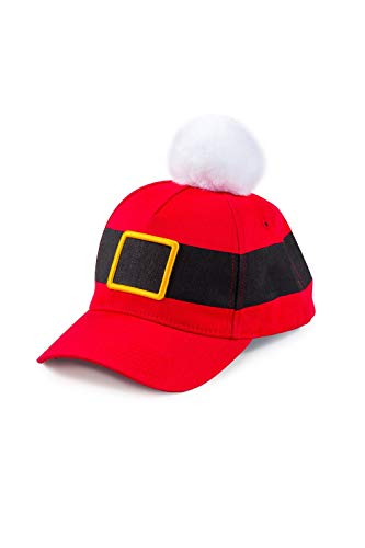 Tipsy Elves Santa Claus Baseball Hat - Christmas Santa Hat for Men & Women