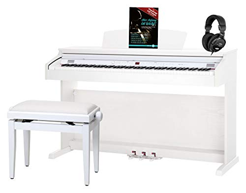 Classic Cantabile DP-50 WM piano, blanco...