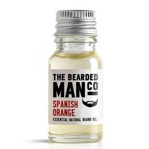 The Bearded Man Company Huile essentielle naturelle pour barbe Orange d'Espagne 10 ml