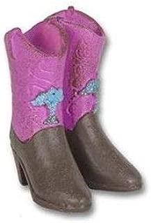 ShopForAllYou Figurines and Statues Miniature Dollhouse Fairy Garden - Cowboy Boots - Accessories