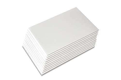 Union Premium Foam Board 16 x 20 x3/16' 10-Pack : Matte Finish High-Density...