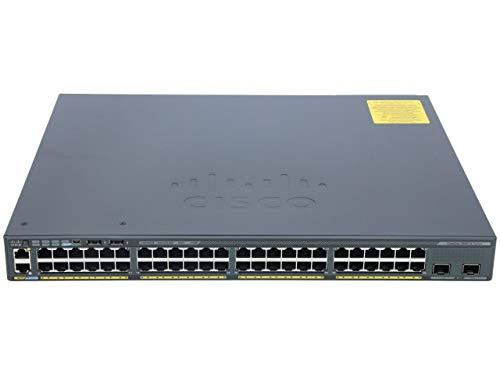 Cisco Catalyst 2960-X Series 48 Port Ethernet Switch with 740 Watt PoE (Renewed)