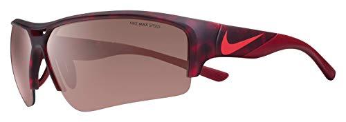 Nike Golf X2 Pro E Sunglasses, Matte Gym Red Tortoise/Team Red Frame, Speed Tint Lens