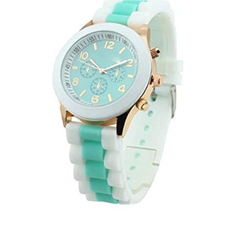 Gysad Damenuhr mit Kieselgel-Uhr, ideal für Spaß und für Mädchen