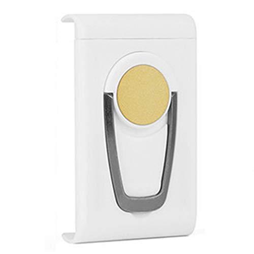 Scucs Soporte universal ajustable para teléfono móvil, giratorio magnético, soporte de escritorio o coche