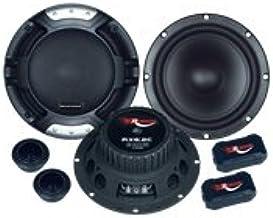 Renegade RX6.2C Ovalado De 2 vías 200W Altavoz Audio - Altavoces para Coche (De 2 vías, 200 W, 100 W, 4 Ω, Neodimio, 5,7 cm)