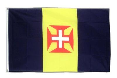 Madeira Flagge, portugiesische Fahne 90 x 150 cm, MaxFlags®