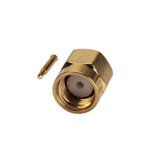 RF SMA Plug Male Solder Mount Coax Connector for 0.086