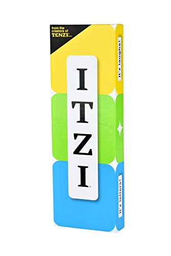 TENZI ITZI  The Fast Fun and Creative Word Matching Family and Party Card Game for Ages 8 to 98  28 Players