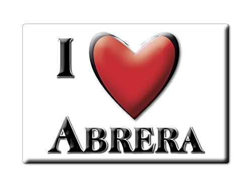Enjoymagnets ABRERA (B) Souvenir IMANES DE Nevera ESPAÑA CATALUÑA IMAN Fridge Magnet Corazon I Love