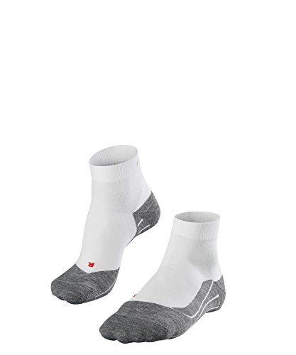 FALKE Herren Laufsocken RU4 Short, Baumwollmischung, 1 Paar, Weiß (White-Mix 2020), Größe: 44-45