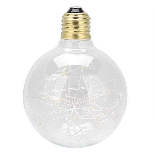 85-265V kleurenlamp, 300Lm LED Fairy-gloeilamp, Ps decoratieve LED-lamp gebruikt in hangers, tafellampen, wandlampvoeten - Uitstekende sfeerlamp (geel)