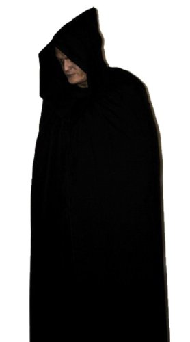 Cape avec capuche pour Halloween, 120 cm, fabriquée à la main au Royaume-Uni