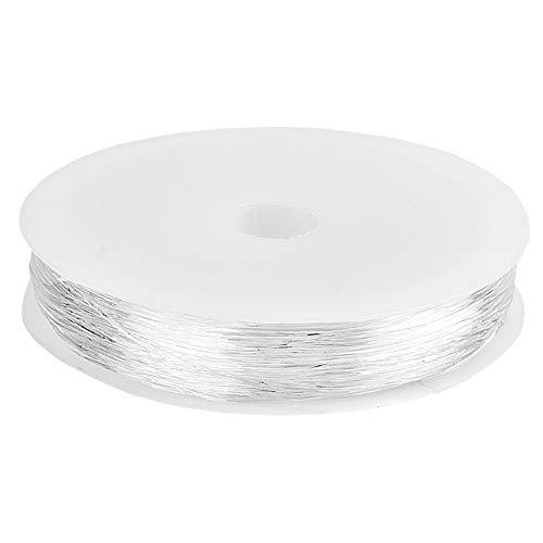 Nastro elastico a forma di cuore, diametro 0,6 mm, 20 m