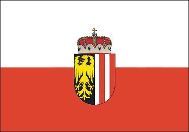 U24 Fahne Flagge Oberösterreich 90 x 150 cm