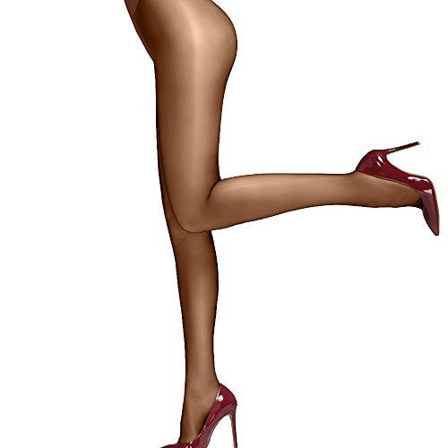 Sozixi Las Mujeres Brillante Satinado Lingerie Pantyhose Leotardos