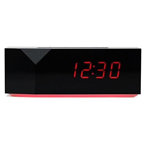 WITTI BEDDI 2 Reloj Despertador Inteligente con generador de Ruido Blanco, Estilo BEDDI, Blanco