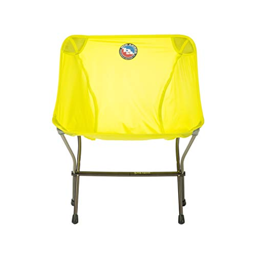 Big Agnes Inc Big Agnes Skyline Ultralight Backpacking Chair for Fast and Light Adventures, Yellow Camp Furniture, One Size